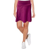 Catwalk A-Line Knit Skort - Berry