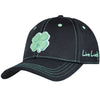 Black Clover - PREMIUM CLOVER - BLACK/MINT GREEN - FITTED-TRIM AROUND CLOVER IS BLACK