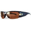 Sundog Blast Mela-Lens Sunglasses - BROWN/GOLD