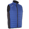 Proquip Men's Therma Tour Wind Vest Full Zip Guilted Gilet - True Blue