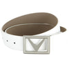 Callaway Chevron Belt White