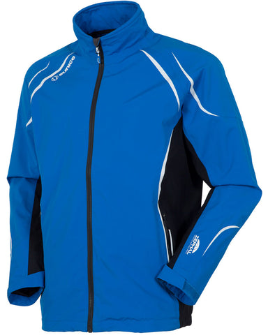 SUNICE CARLETON ZEPHAL WATERPROOF JACKET - COLLEGIATE BLUE/BLACK