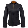 Catwalk City Jacket - Black Leather