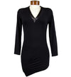 Catwalk Convertible Tunic - Black