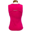 Catwalk Front2Back Sleeveless Golf Top - Lipstick