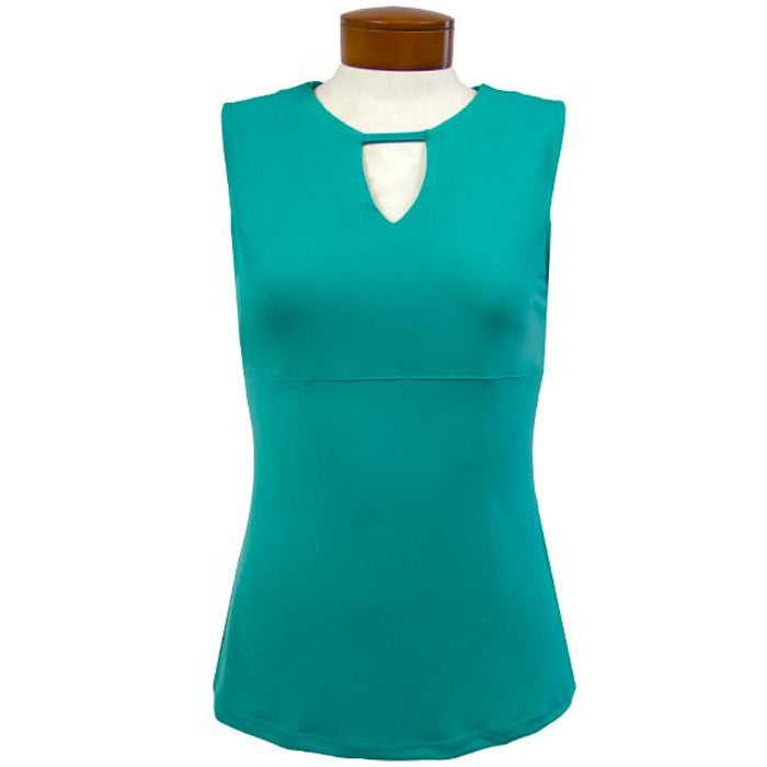 Catwalk Front2Back Sleeveless Golf Top - Mint