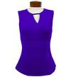 Catwalk Front2Back Sleeveless Golf Top - Concorde
