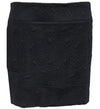 Catwalk Luxe Skirt - Edgy Text