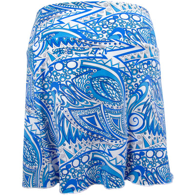 Catwalk Reversible Skirt - Blue Print