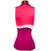 Catwalk Salina Sleeveless Top - Beet/White