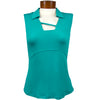 Womens Catwalk Tanya Sleeveless Golf Top - Mint