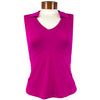 Catwalk Taylor Sleeveless Golf Top - Magenta