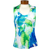 Catwalk Taylor Sleeveless Golf Top - Serene Blue