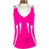 Catwalk 1144 Golf Top - Pink/White