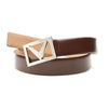 Callaway Chevron Belt Brown