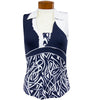 Catwalk Kayli Sleeveless Golf Top - Navy/Print