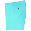 Mens Flat Front Chambray Walk Short - AQUA