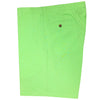 Mens Flat Front Chambray Walk Short - Key Lime