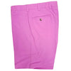 Donald Ross Flat Front Chambray Walk Short - ROSEBUD - Final Sale