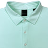 Dunning Jersey Golf Polo - BEACH GLASS/ WHITE