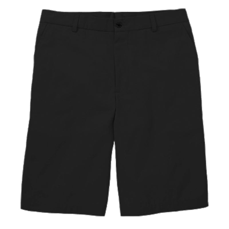 Dunning Golf Interface Stretch Performance Flat Front Shorts - Black