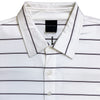 Dunning Jersey Golf Polo - WHITE
