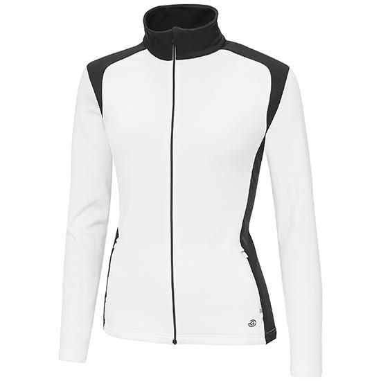 Galvin Green Womens DOROTHY Insula Body Warmer Jacket - WHITE / BLACK