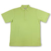 Donald Ross Mens Short Sleeves Solid Pique Polo - LIME