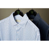Donald Ross LONG Sleeve Polo with 3 button Placket