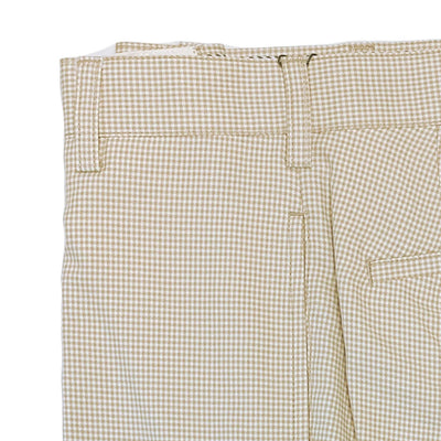 Donald Ross Flat Front Performance Walk Short - KHAKI