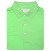 Mens Short Sleeve Classic Jersey KNIT COLLAR - KEY LIME
