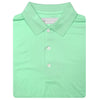Mens Short Sleeve Classic Jersey KNIT COLLAR - SEAFOAM