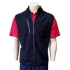 Donald Ross Wooly Tech Fleece Vest - NAVY