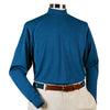 Donald Ross Long Sleeve Mock Neck Layering Shirt - INDIGO - PRE ORDER