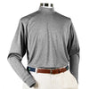 Donald Ross Long Sleeve Mock Neck Layering Shirt - STEEL GREY - PRE ORDER