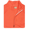 Donald Ross Lightweight 1/2 Zip Pullover - CORAL/CREAM