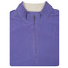 Mens Full Zip Cross-Cut Fleece - VEST - BLUE IRIS