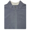 Mens Full Zip Cross-Cut Fleece - VEST - GREY