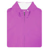 Mens 1/2 Zip Pullover With 2 Pockets VEST- ROSEBUD