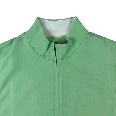 Donald Ross 1/2 Zip Pullover With 2 Pockets VEST - SPEARMINT
