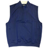 Donald Ross 1/2 Zip Pullover With 2 Pockets VEST - NAVY