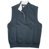 Donald Ross 1/2 Zip Pullover With 2 Pockets VEST - DARK GREY