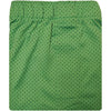 Donald Ross Micro Dot Boxer Short - Irish Green/Navy