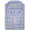 Mens Woven Long Sleeve Button Down SKY