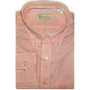 Donald Ross Woven Long Sleeve Button Down PAPRIKA