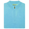 Mens 1/2 Zip Sweater LONG SLEEVE - AQUA