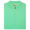 Mens LONG SLEEVE 1/2 Zip Sweater - SEAFOAM
