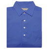 Mens Short Sleeve Classic PIQUE, SELF COLLAR, LEFT POCKET - ATLANTIC