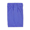 2 Color Vertical Stripe Boxer Short - SAPPHIRE CREAM