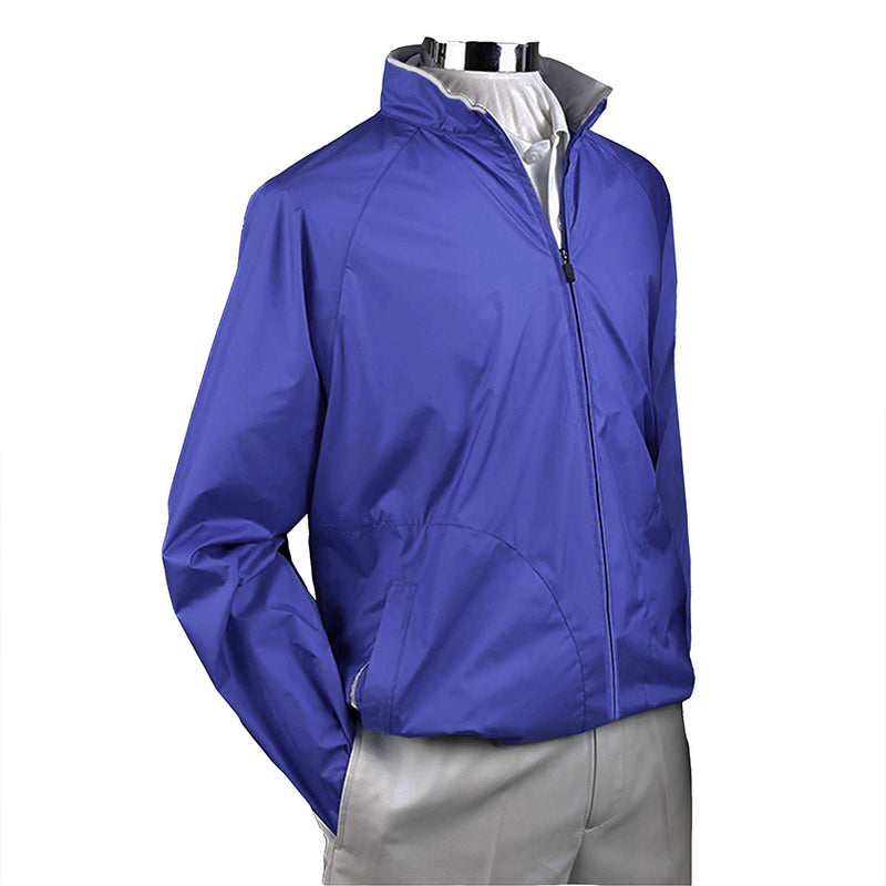 Donald Ross Mens ULTRALIGHT Packable Long Sleeve Shell - ATLANTIC